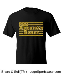 American Honey Men's T-Shirt Design Zoom