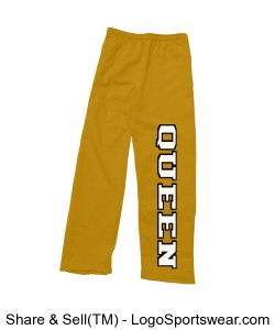 Queen Ladies Sweatpant Design Zoom
