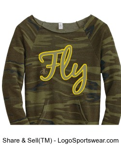 FLY Ladies Sweatshirt Design Zoom