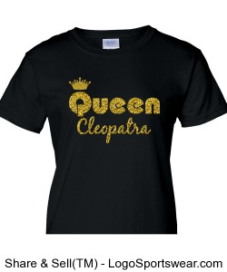 Queen Cleopatra Ladies T-Shirt Design Zoom
