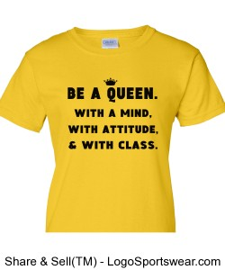 Be a Queen with a mind, attitude Design Zoom