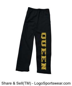 Queen Adult Sweatpants Design Zoom