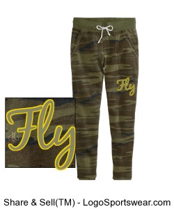 FLY Ladies Fleece Pant Design Zoom