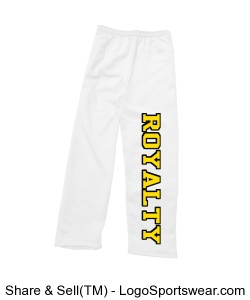 Royalty Ladies Sweatpant Design Zoom