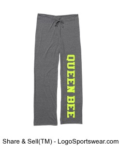 Queen Bee Ladies Relax Pants Design Zoom